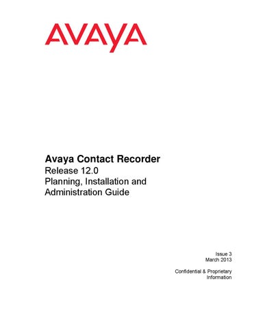 AVAYA GUIDE BUILDER DRIVER FOR PC