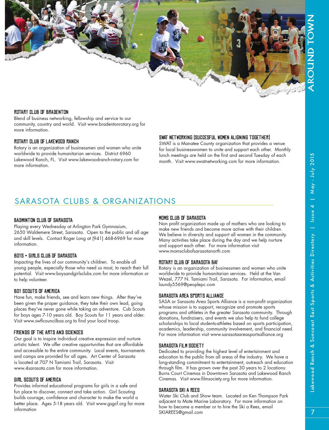Lakewood Ranch & Suncoast East Sports & Activities Directory