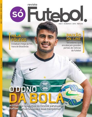 Revista Só Futebol  06 by Olik Comunicação - issuu 92a8d7cffd94f