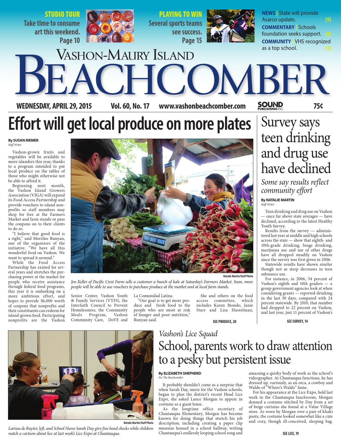 Vashon maury island beachcomber april 29 2015 by sound publishing vashon maury island beachcomber april 29 2015 by sound publishing issuu nvjuhfo Choice Image