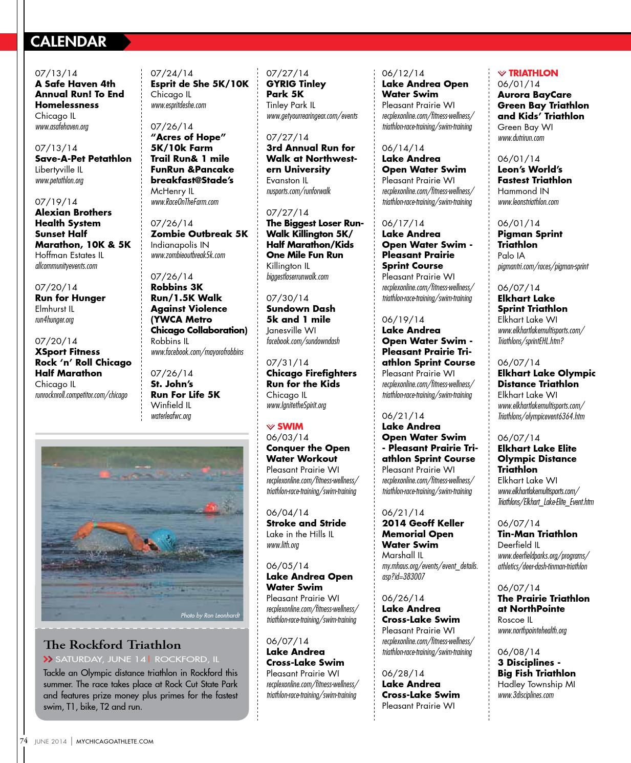 Chicago Athlete June 2014 Issue by Kelli L - issuu