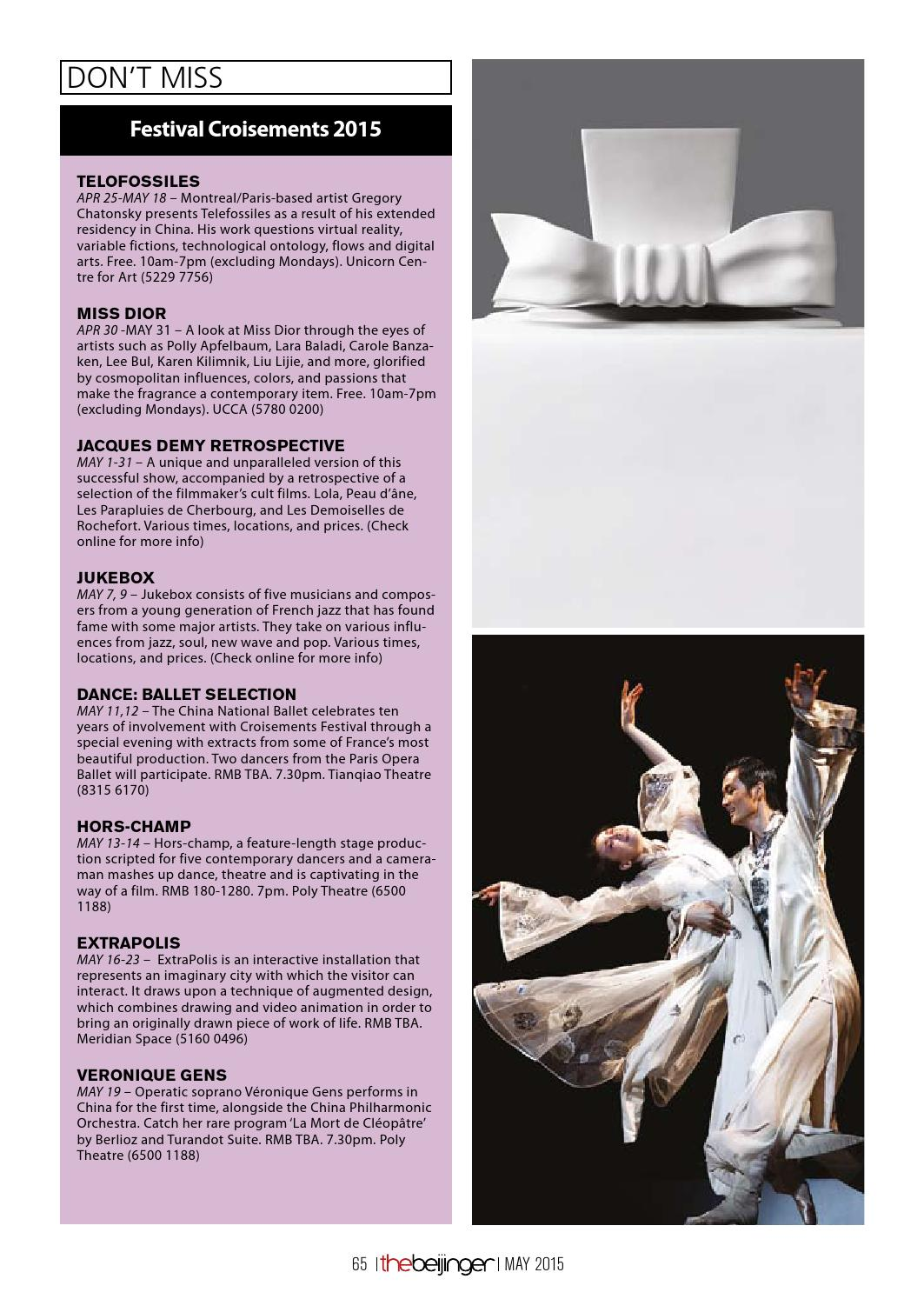 the Beijinger May 2015 by The Beijinger Magazine - issuu