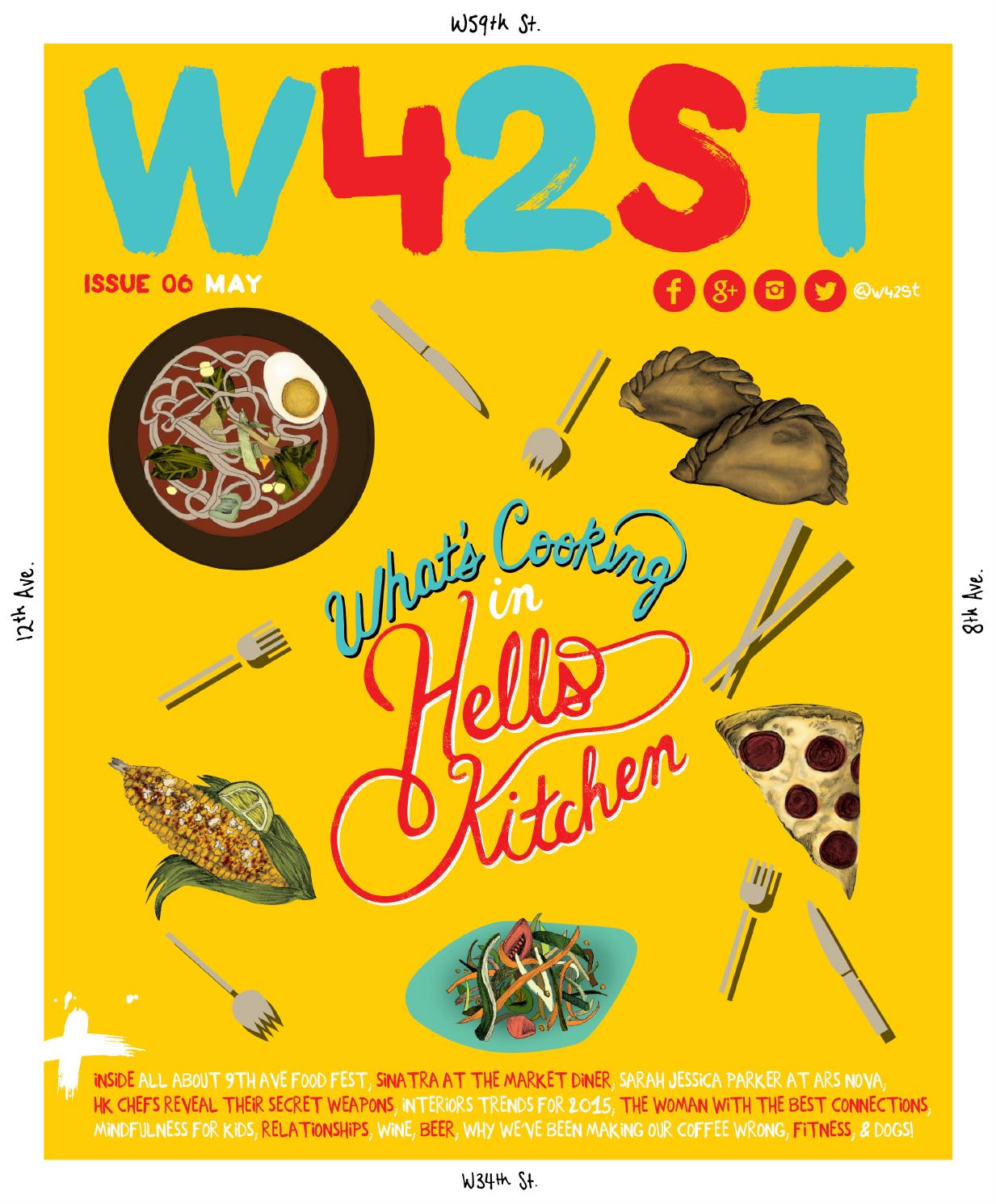 W42st Magazine Issue 6 Whats Cooking In Hells Kitchen By Tendencies Sling Bag Twin Side Pocket Burgundy Maroon Issuu