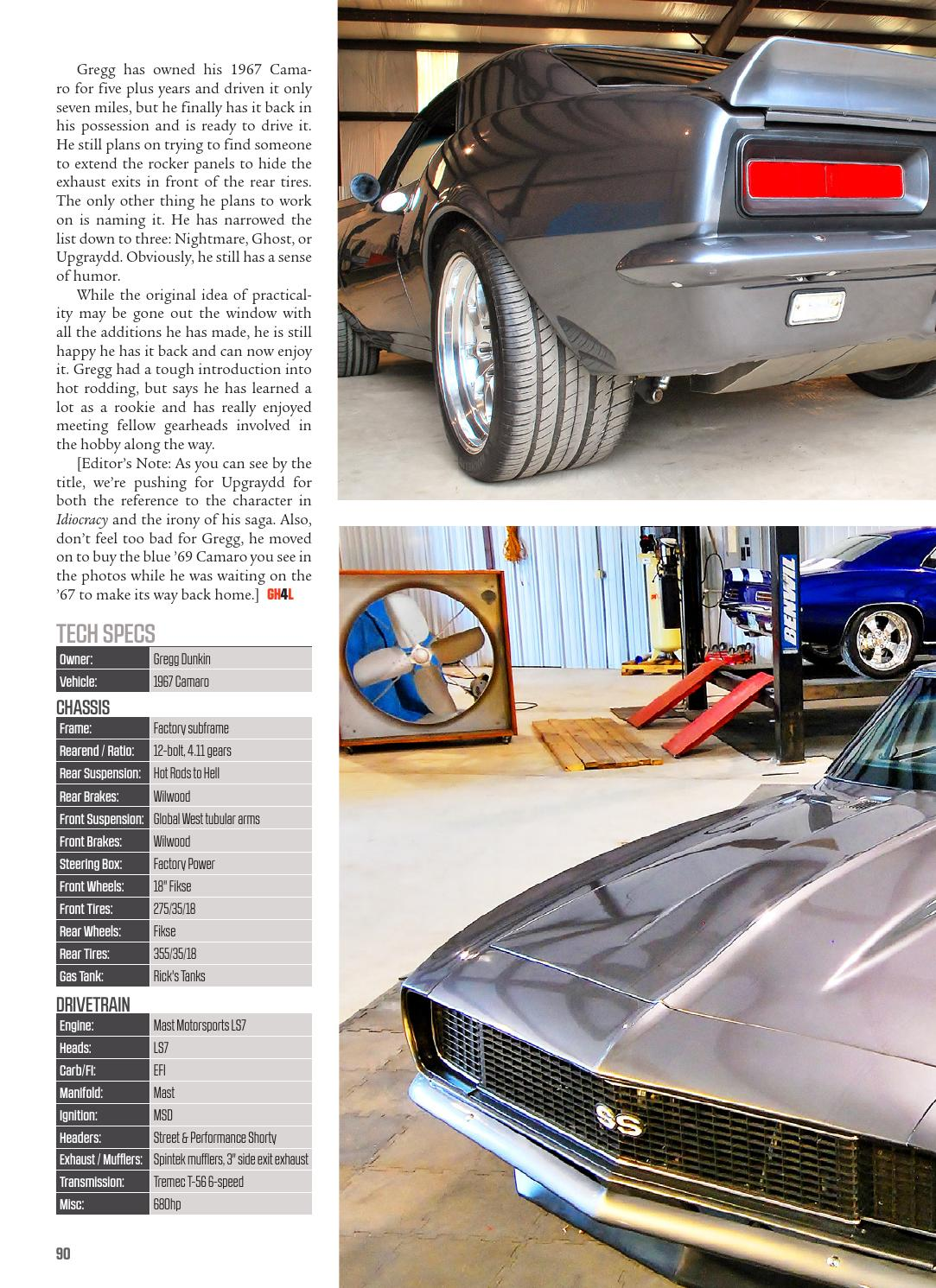 Gearheads4Life Summer 2015 by Xceleration Media - issuu