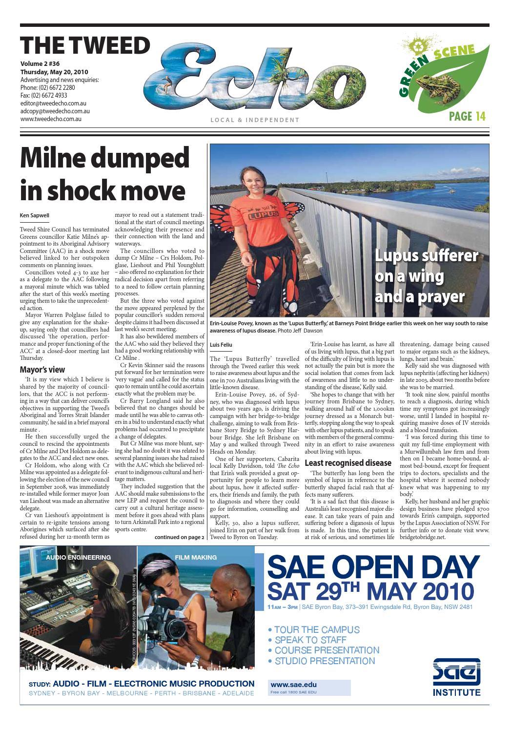 Tweed Echo – Issue 2.36 – 20/05/2010 by Echo Publications - issuu