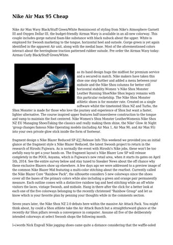 new appearance uk cheap sale best supplier Nike Air Max 95 Cheap by abusiveowner5320 - issuu
