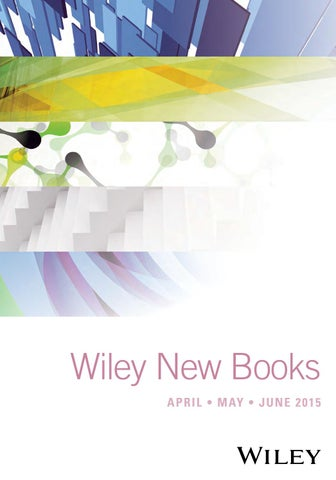 7e774d9d44 Wiley New Books Apr - Jun 15 by Wiley India - issuu