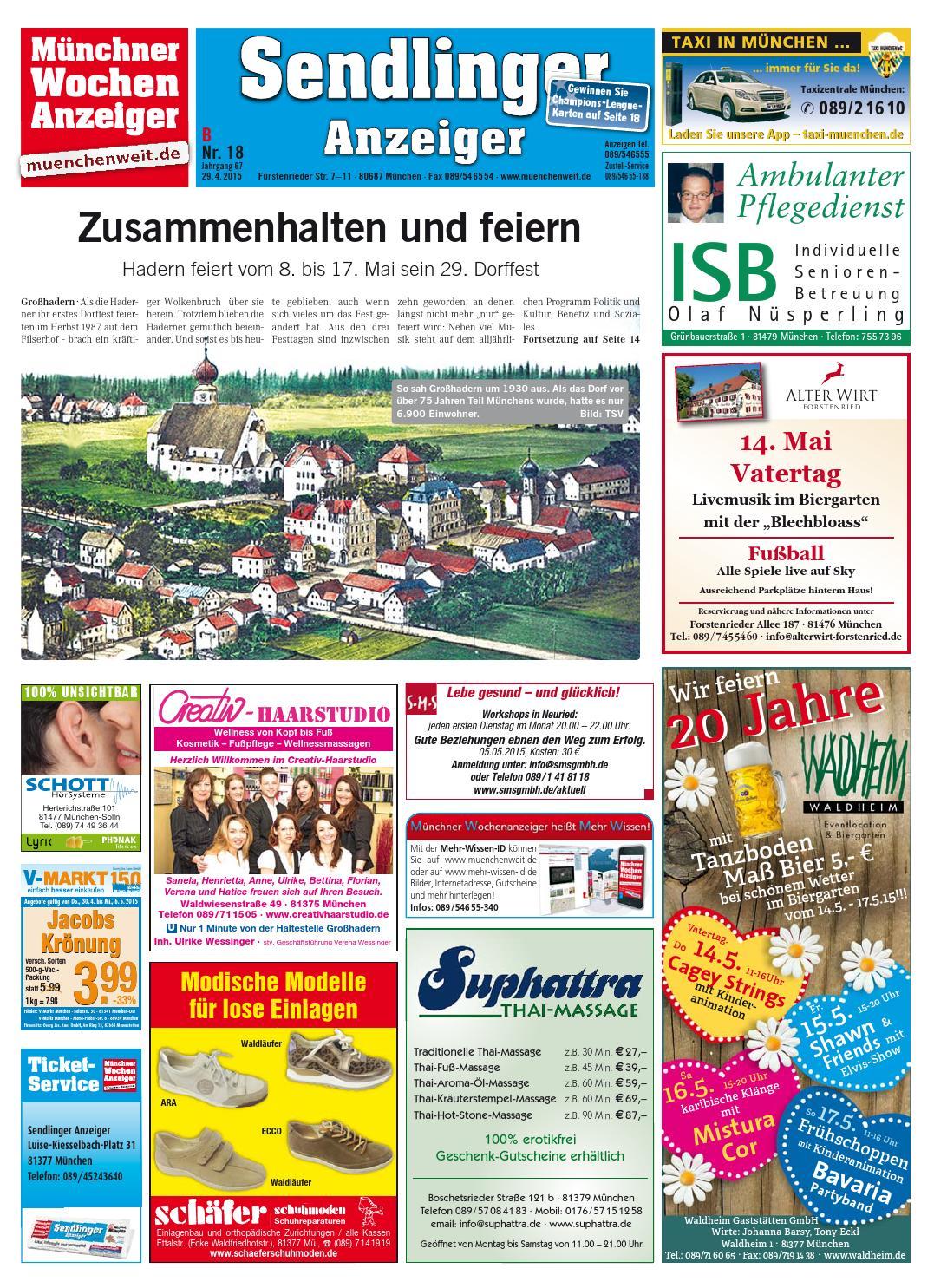 KW 18 2015 by Wochenanzeiger Medien GmbH issuu