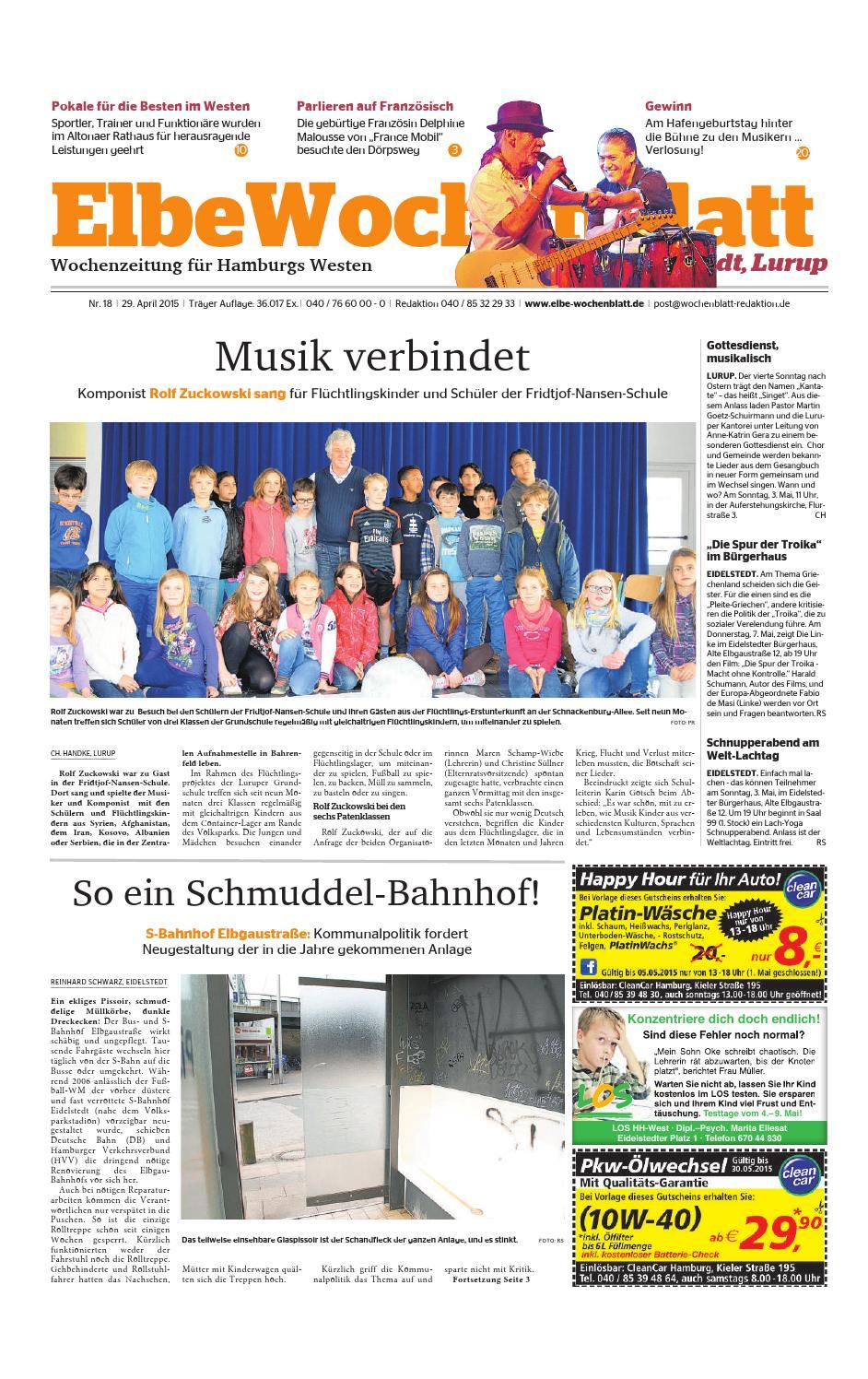 Eidelstedt KW18-2015 by Elbe Wochenblatt Verlagsgesellschaft mbH ...