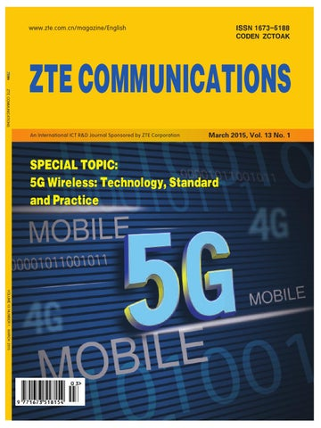 ZTE Communication - March 2015 by Sitha Sok - issuu