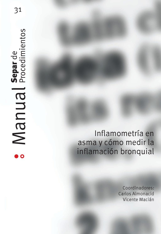 Manual SEPAR 31. Inflamometría en asma y cómo medir la inflamación ...