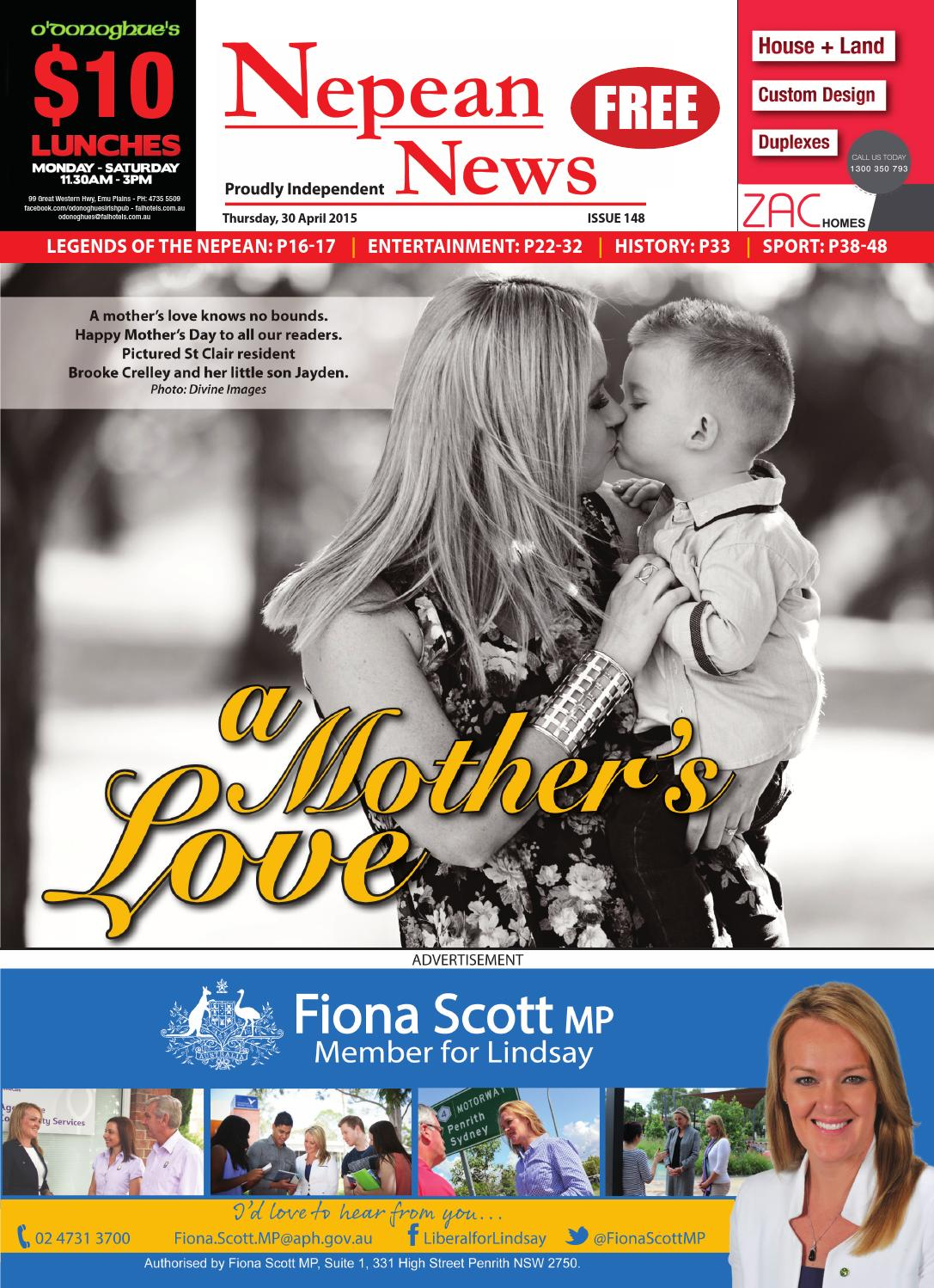 Nepeannews 30april2015 By Nepean News Issuu