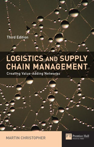 Strategic Logistics Management Book