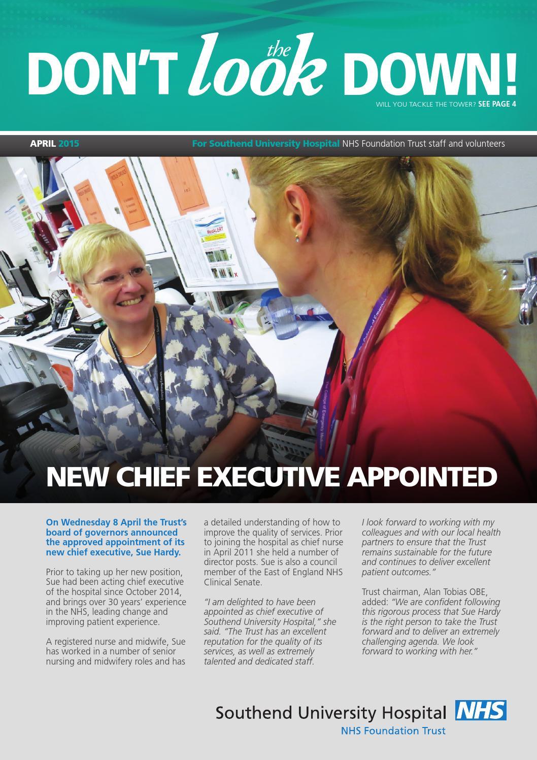 Look April 2015 by Southend University Hospital NHS
