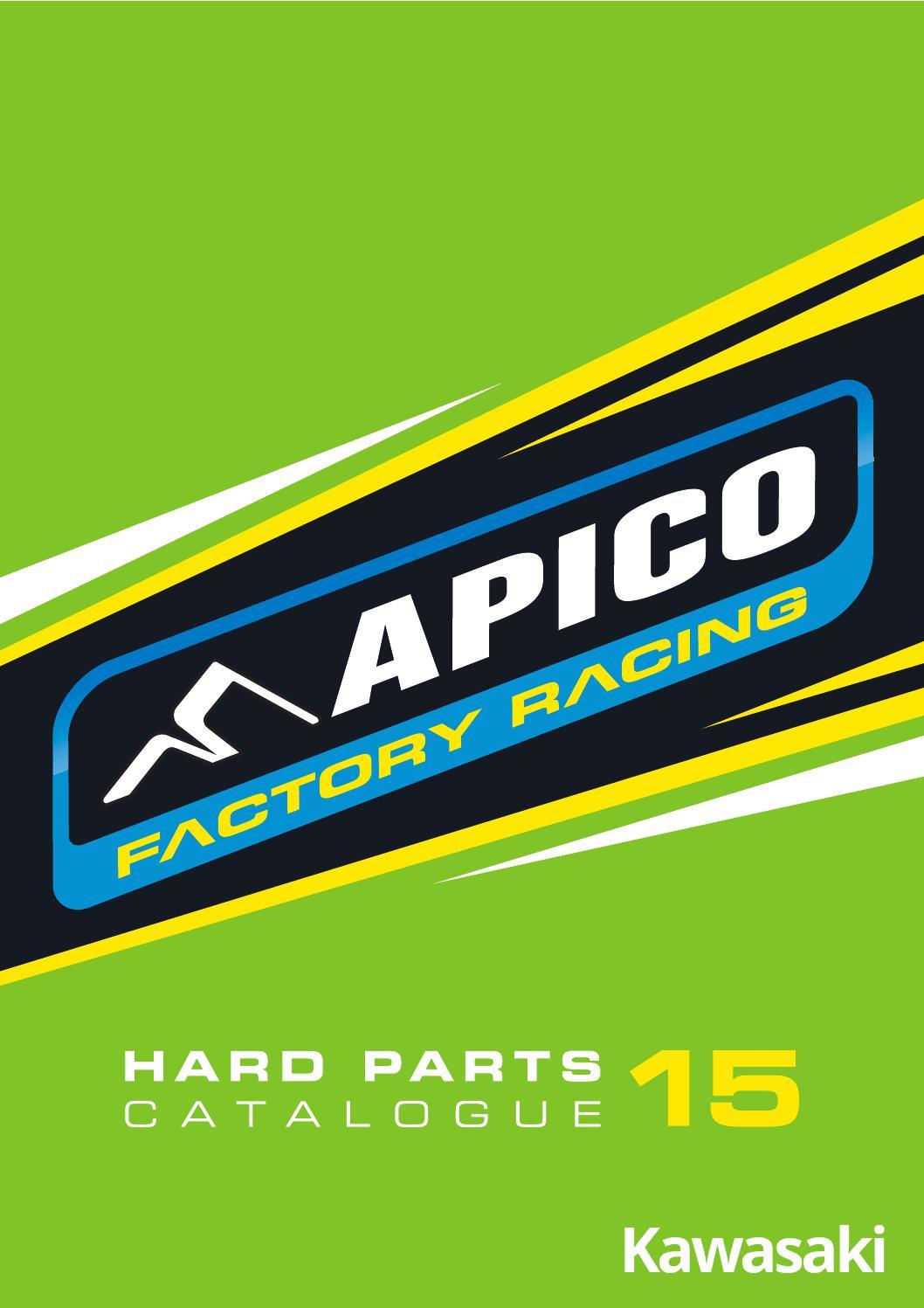 Apico Anodised Aluminium Bar Ends Red  Trials Enduro MX Offroad Factory Spec