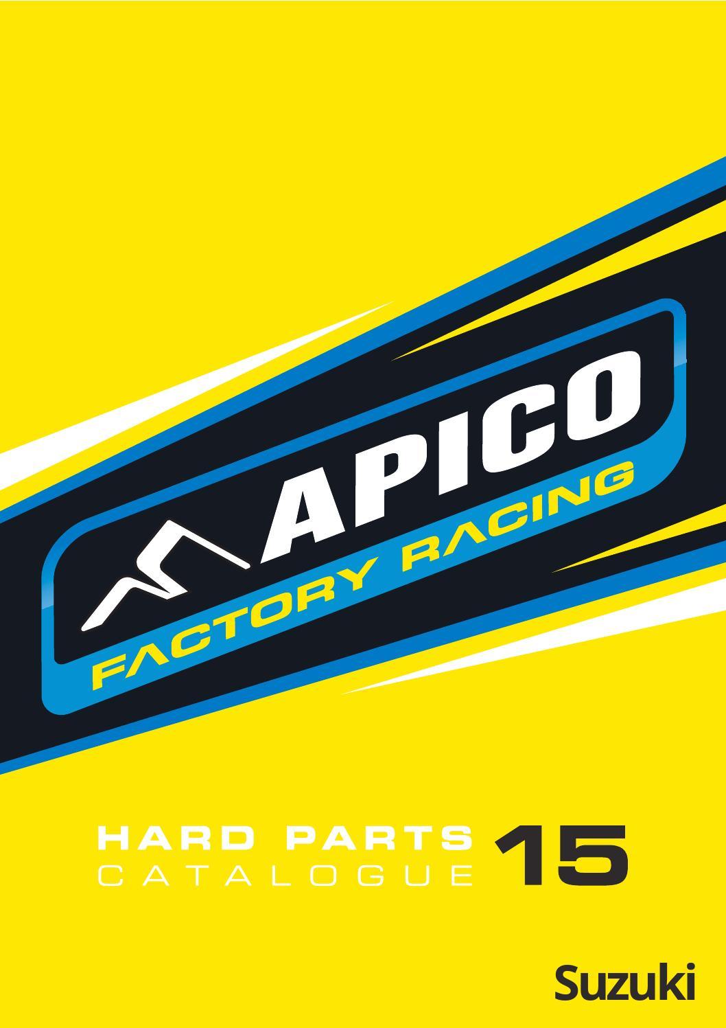APICO HEAD /& BASE GASKET SET SUZUKI RM250 03-08