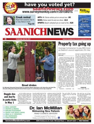 Saanich Pay Property Tax