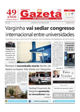 Gazeta de Varginha - 29 04 2015 by Gazeta de Varginha - issuu 192036a90e