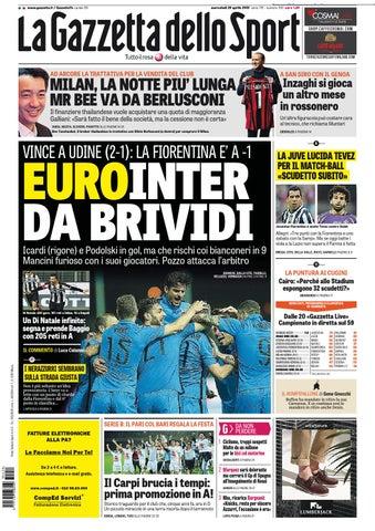 pretty nice 27253 737dc La Gazzetta dello Sport (04-13-2015) by Nguyen Duc Thinh - issuu