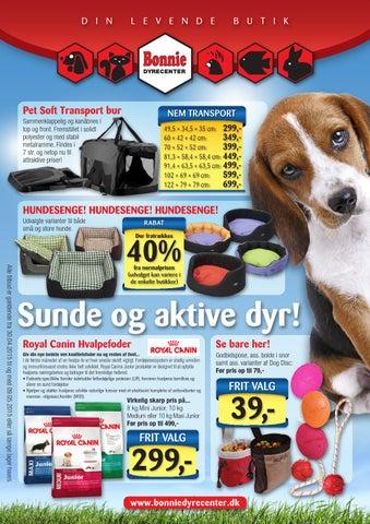 Tilbuds katalog - April 2015 - Bonnie Dyrecenter