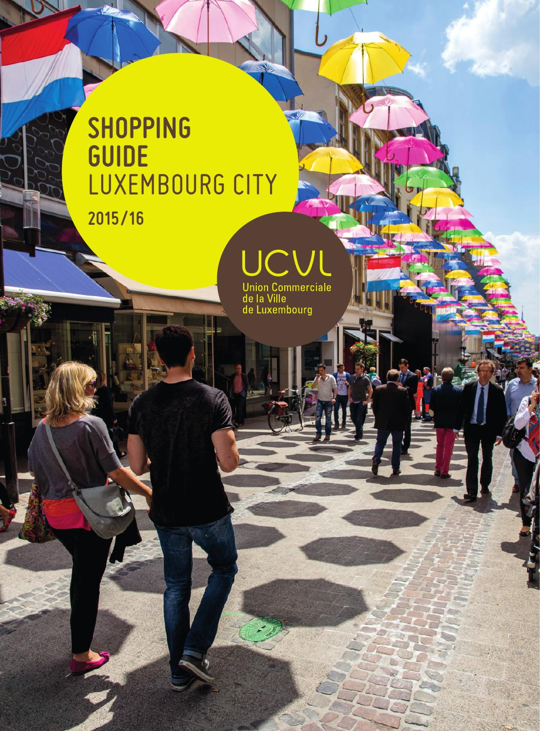 fb7d48bf583b7 Shopping Guide Luxembourg City by Cityshopping - issuu