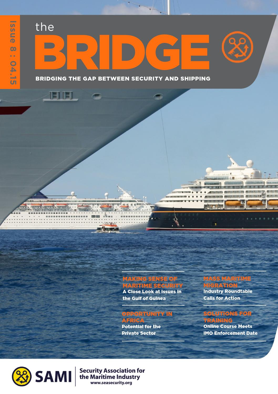 Thebridge Issue 8 April 2015 By Security Association