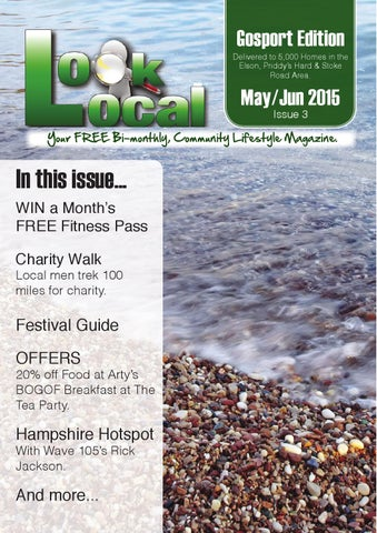 a20f9b532167 Look Local, Gosport Edition: May/June 2015, Issue 03. by Look Local ...