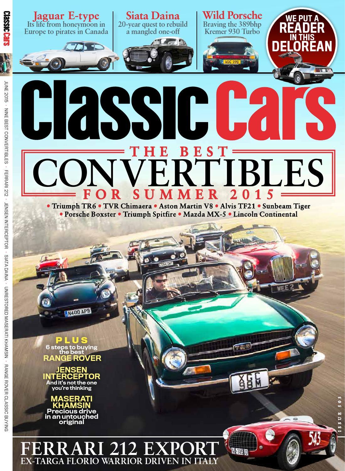 Classic Cars Magazine June issue by Classic Cars Magazine - issuu