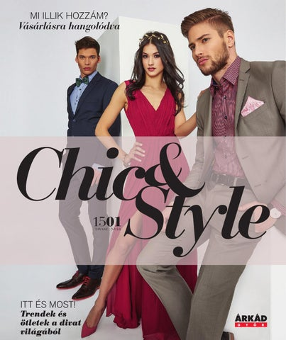 9b936bf28975 Chic & Style house magazin 2015/1 by Company Info Kft. - issuu