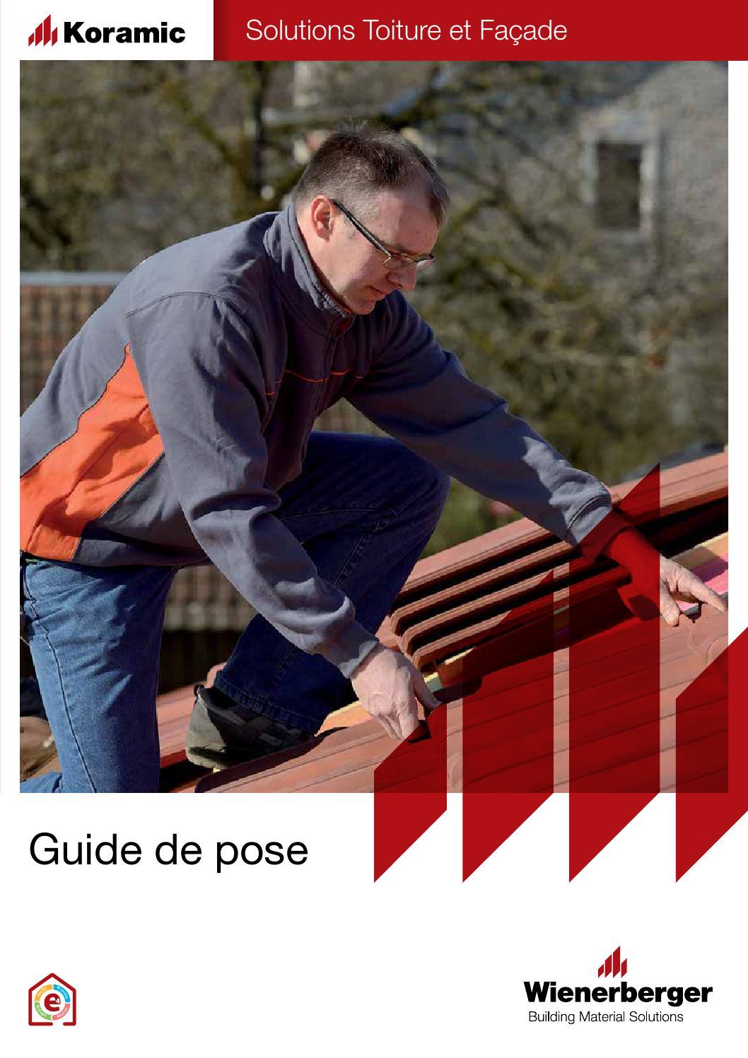 Documentation Guide De Pose Koramic By Wienerberger Ag Issuu