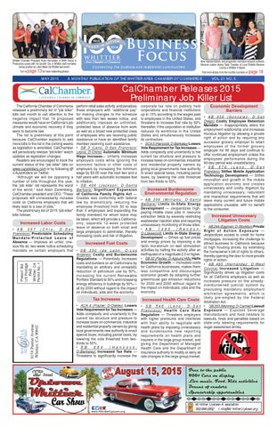 0f0afb83d43 Business Focus - May 2015 by Whittier Chamber - issuu