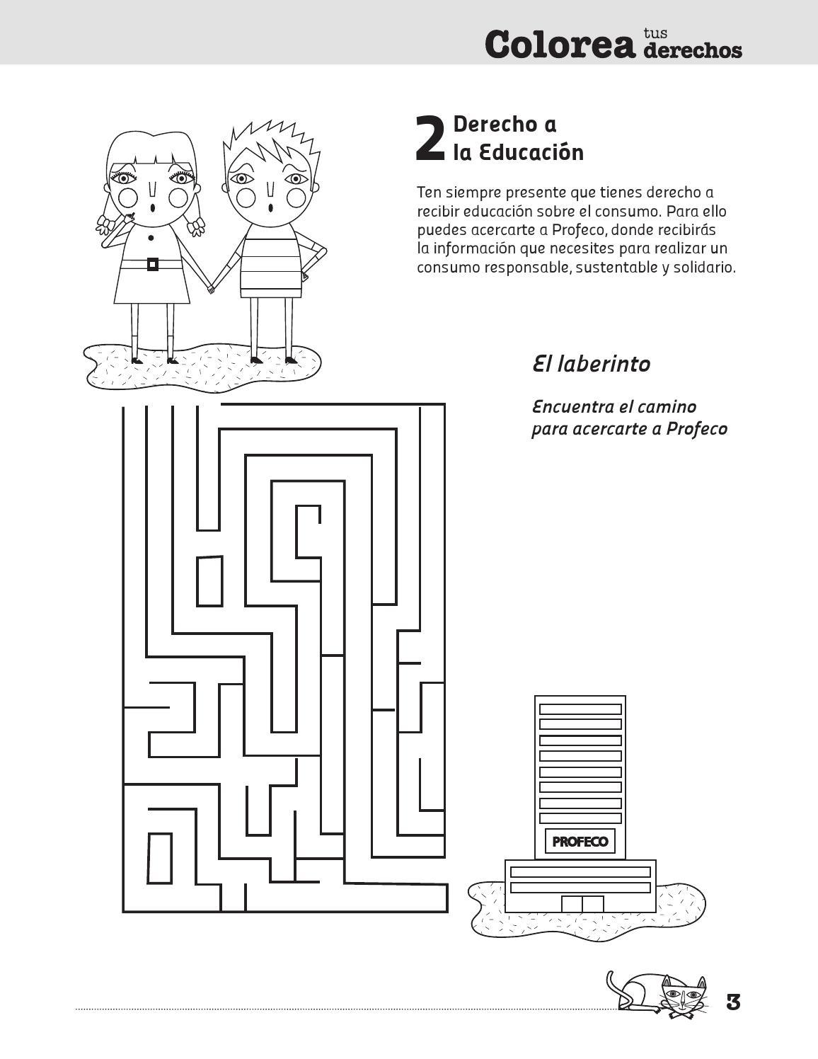 COLOREA TUS DERECHOS by PROFECO - issuu