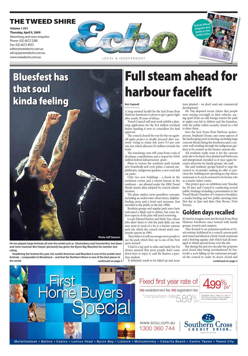 Tweed Echo – Issue 1 31 – 09/04//2009 by Echo Publications - issuu