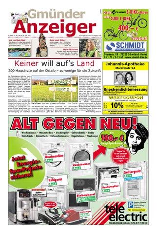 Der Gmünder Anzeiger Kw 18 By Wolfram Daur Issuu