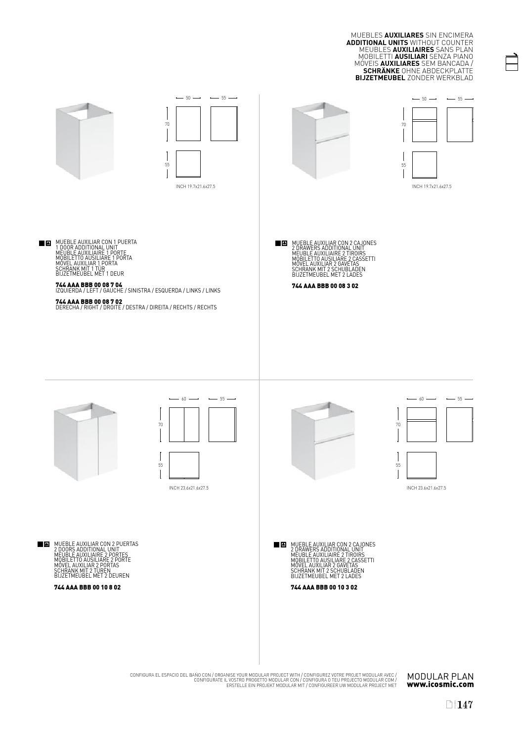 3140424 Catalogo Cosmic 2015 Export Mobiliario By Industrias