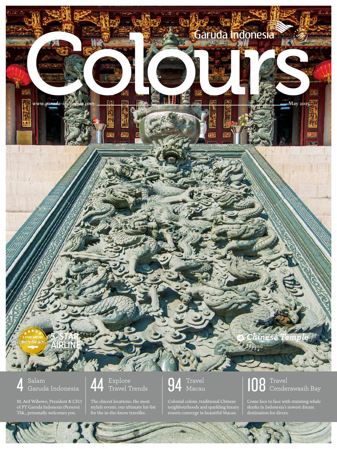 Colours Garuda Indonesia May 2015 By Agency Fish Issuu