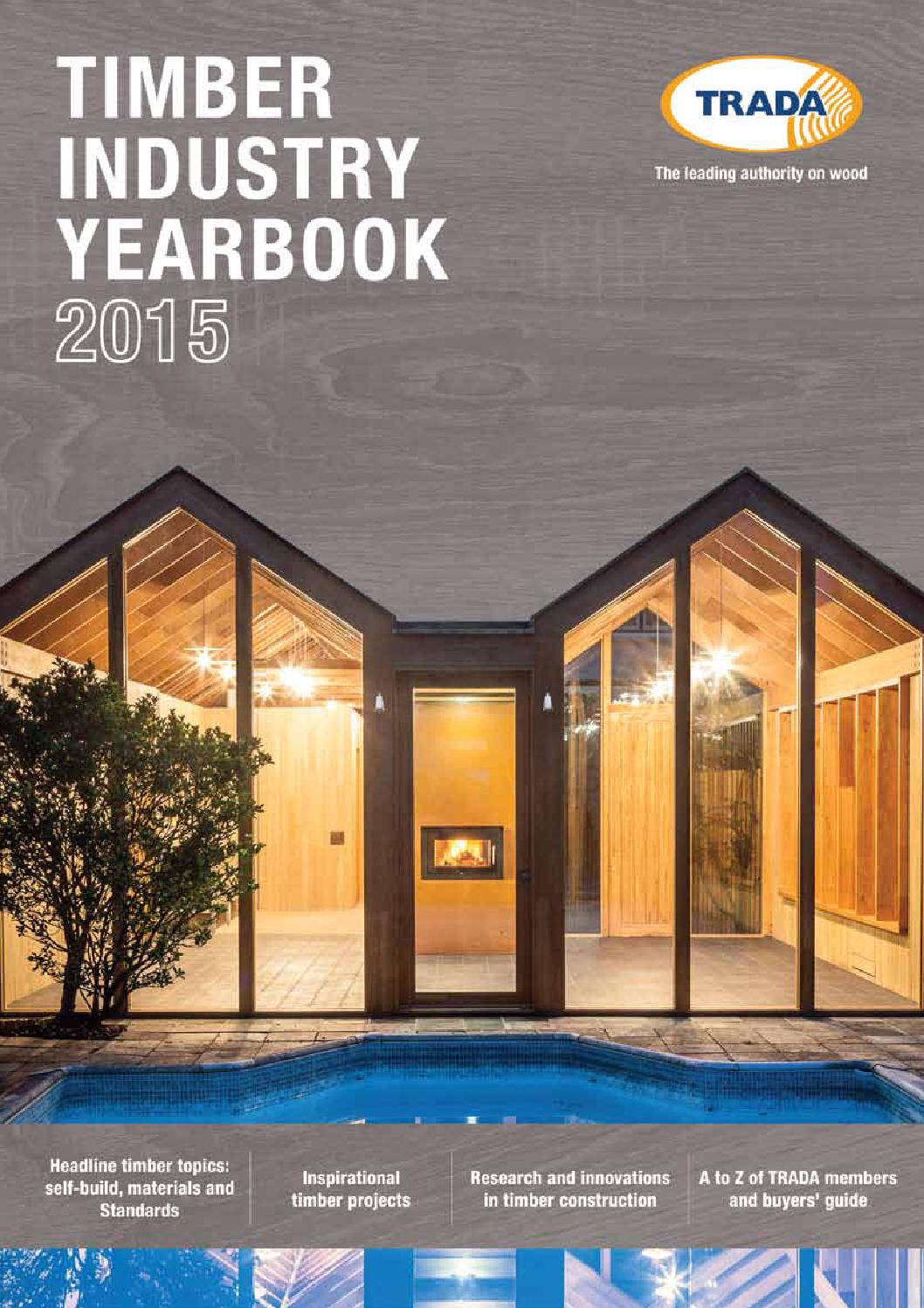 Timber Industry Yearbook 2015 by Exova BM TRADA - issuu