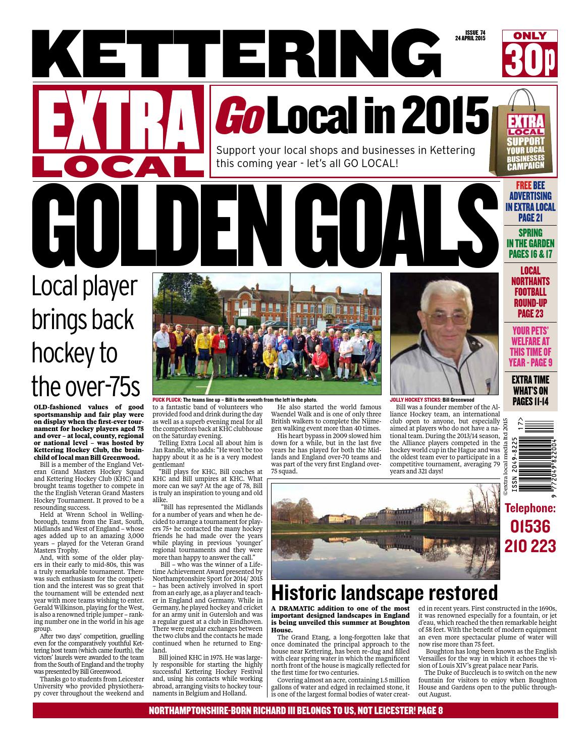 Kettering 24 4 15 By Extra Newspapers Issuu