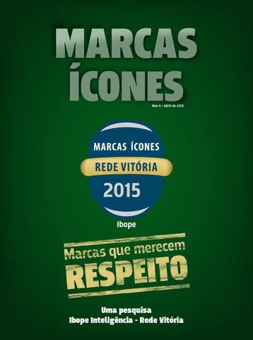 Revista Marcas Ícones 2015 - Rede Vitória by Folha Vitória - issuu 30f39df4851e3