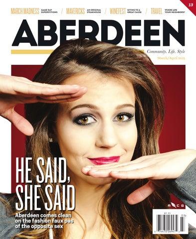 Aberdeen Magazine March/April 2015 by McQuillen Creative