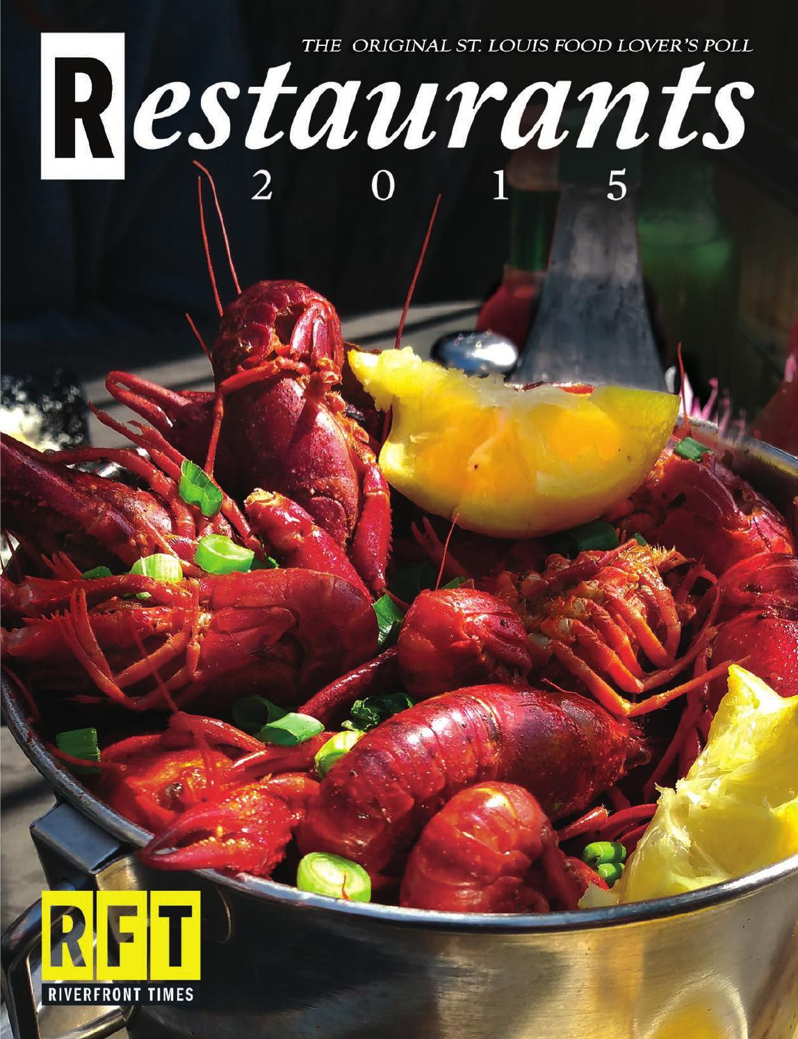 RFT Restaurant Guide 2015 by Riverfront Times - issuu