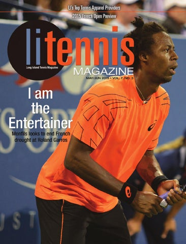 Long Island Tennis Magazine May   June 2015 by United Sports ... 4736577b6