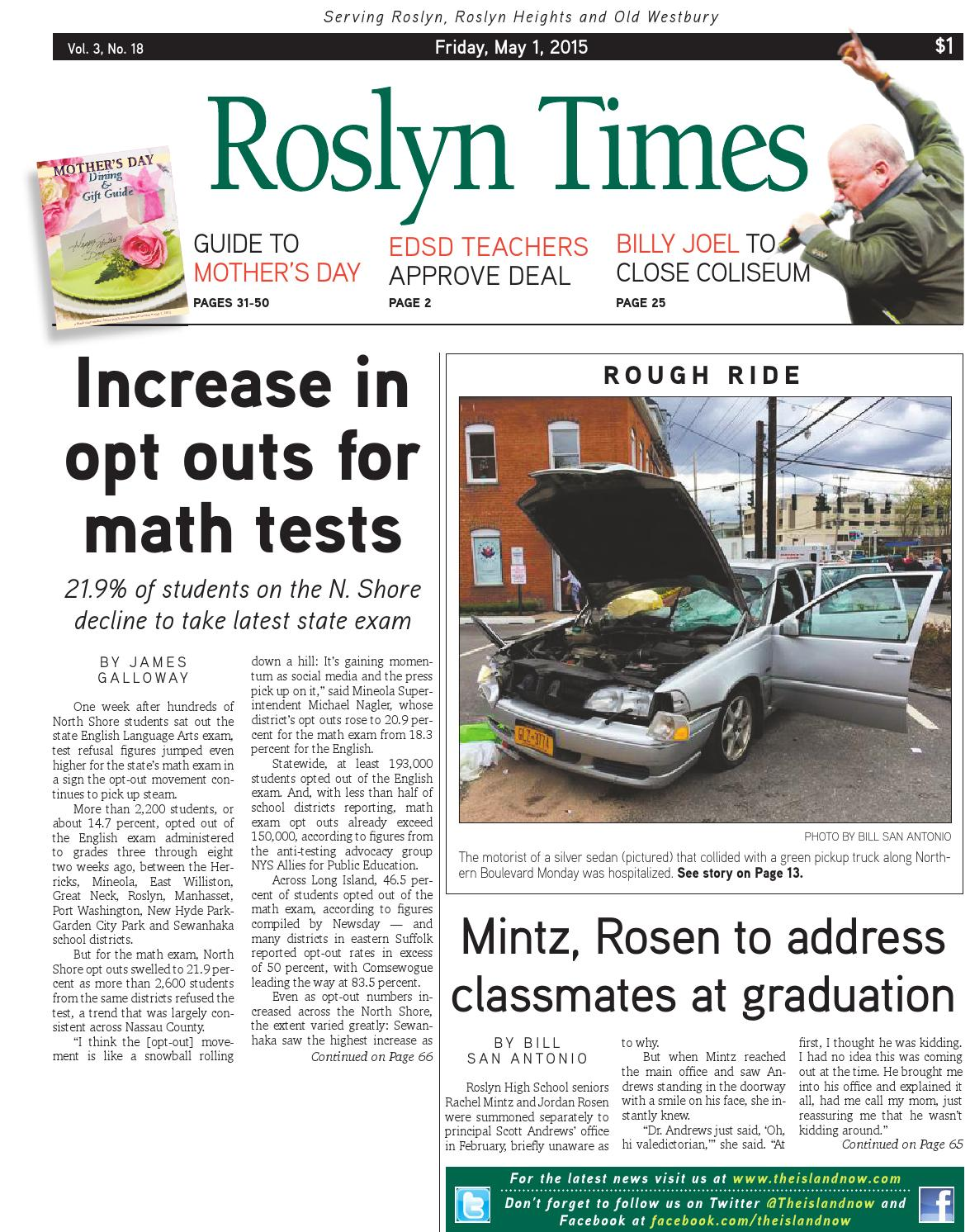 Roslyn Times 5.1.15 by The Island Now - issuu