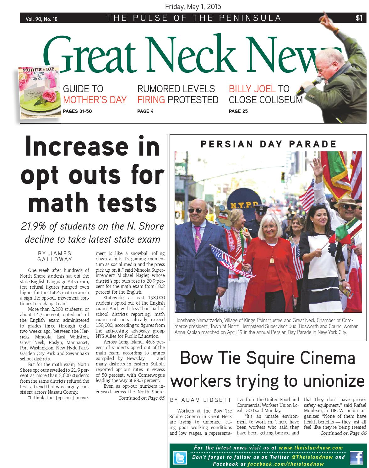 Great Neck News 5.1.15 by The Island Now - issuu