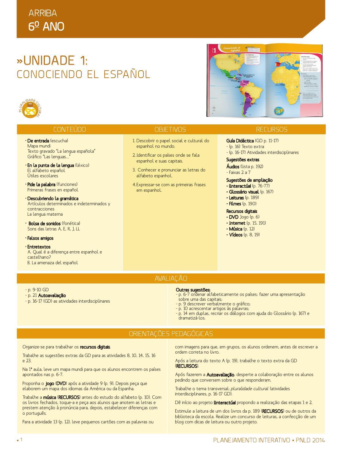 Planejamento Arriba Pnld By Thiago Jordano Issuu