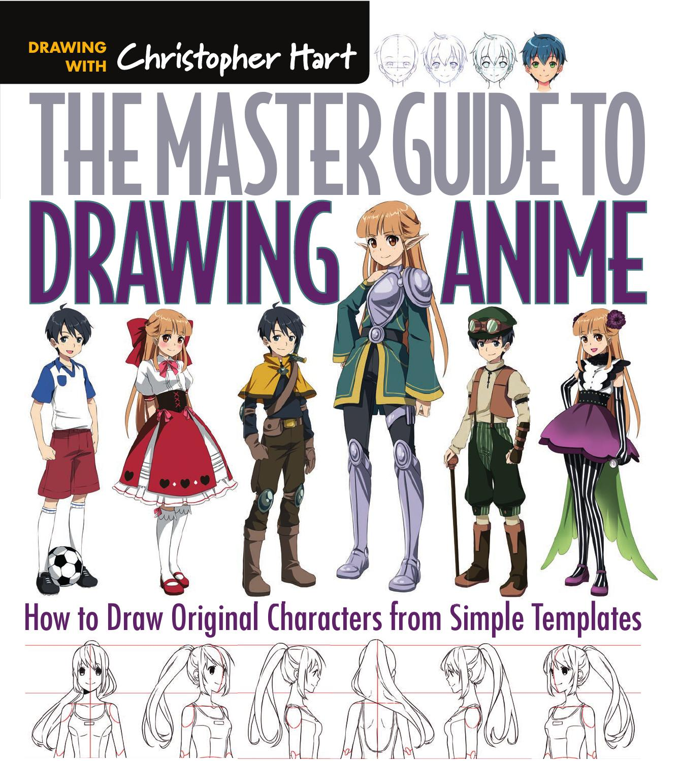 The master guide to drawing anime how to draw original for How to doodle characters