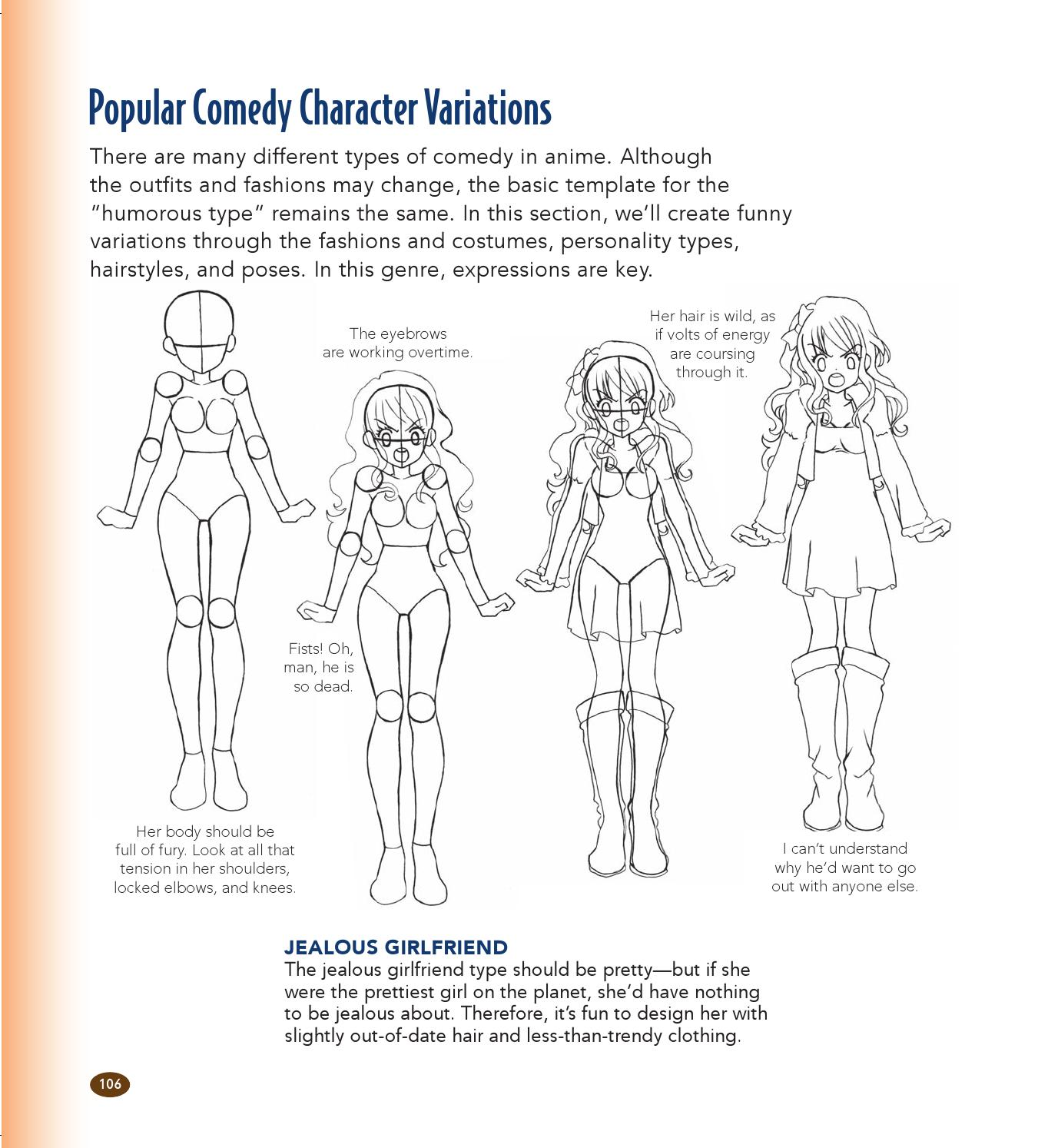 The Master Guide To Drawing Anime How To Draw Original Characters From Simple Templates By Sixth Spring Books Issuu