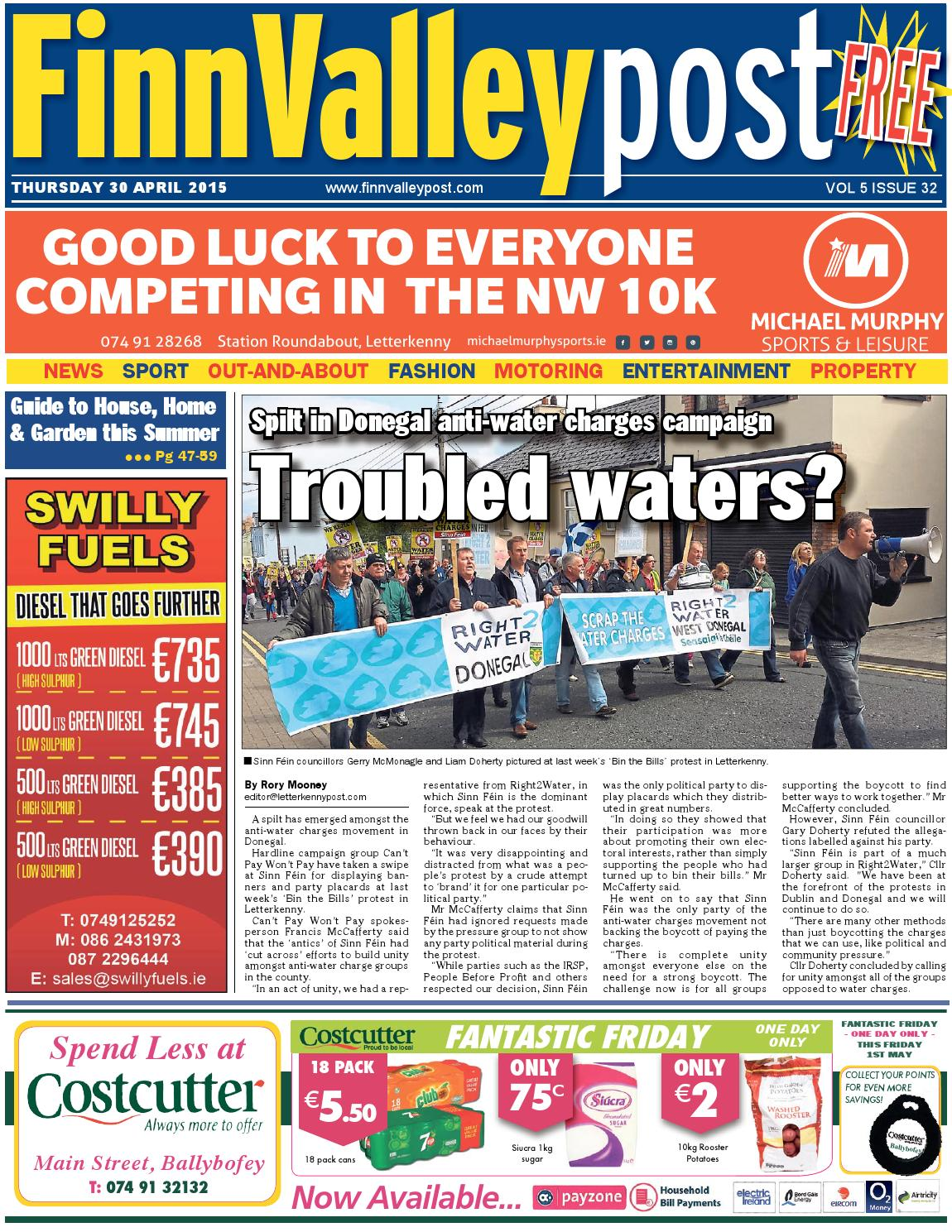 8fdb152eabcd 30 April 2015 Finn Valley Post by River Media Newspapers - issuu