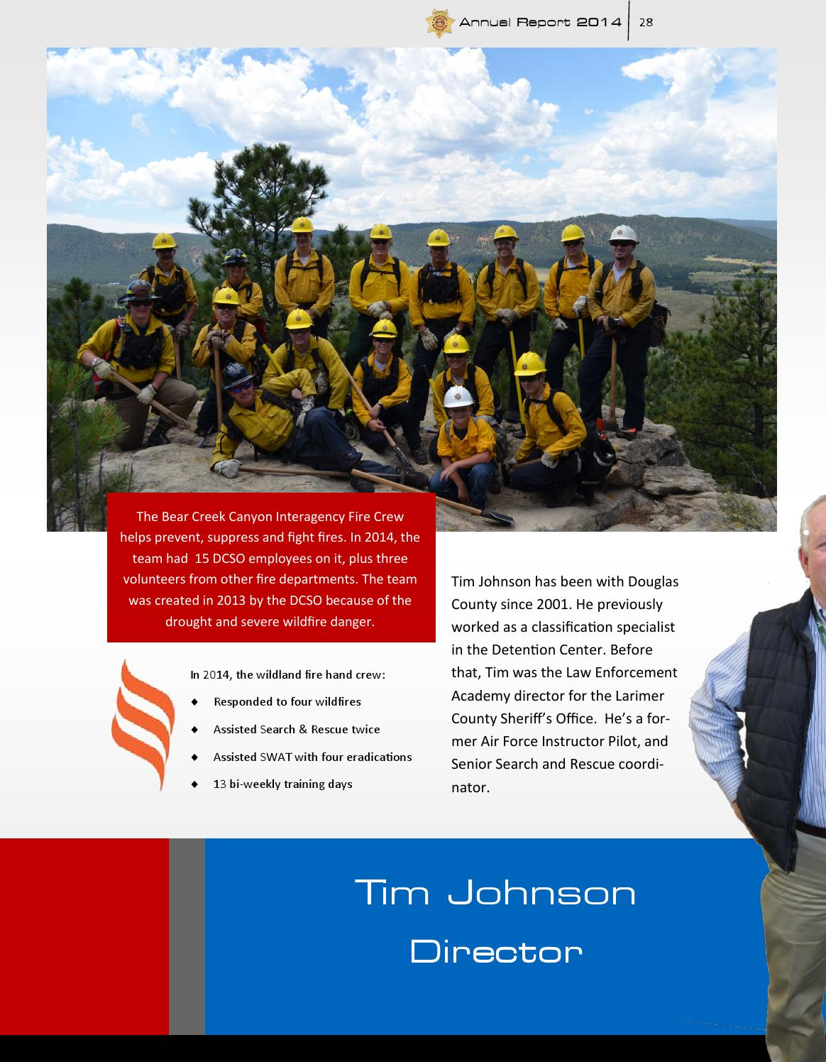2014 Annual Report Douglas County Sheriff's Office by