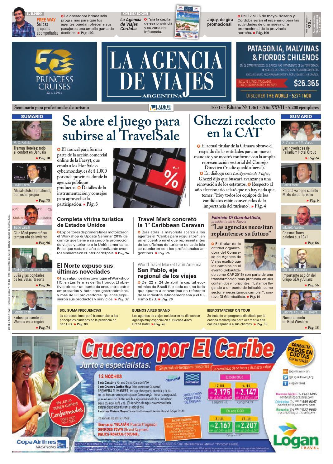 La Agencia de Viajes Argentina N° 1.361 by La Agencia de Viajes - issuu